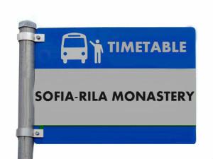 bus sofia -rila monastery